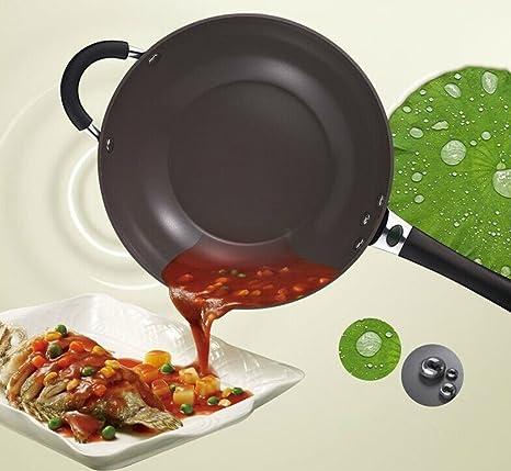 Astar fuego Longane con cerámica antiadherente fácil de limpiar, no de humo de utensilios de