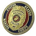 U.S.MARINE CORPS MILITARY POLICE / USMC G-P Challenge Coin 1103#