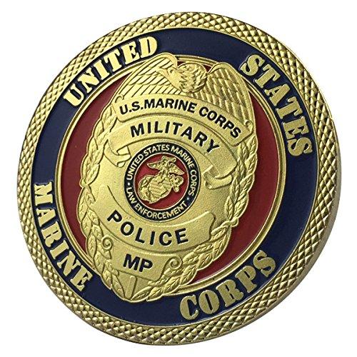 Corps Challenge Coin (U.S.MARINE CORPS MILITARY POLICE / USMC G-P Challenge Coin 1103#)
