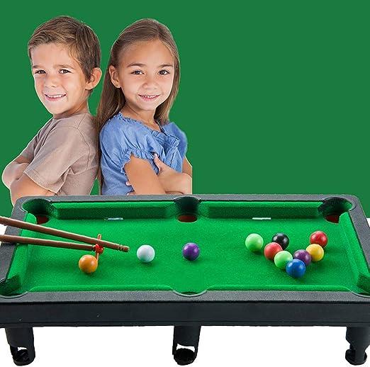 FairOnly Mini Mesa de Billar para niños, Mesa de Billar para niños ...