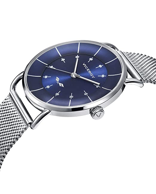 Amazon.com: Viceroy Watch 42373-36 Antonio Banderas Man Blue Steel: Watches