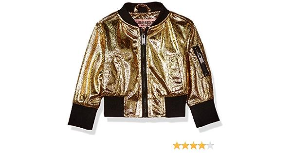 24M Brown//Leopard Urban Republic Baby Ur Girls Polyfil Jacket