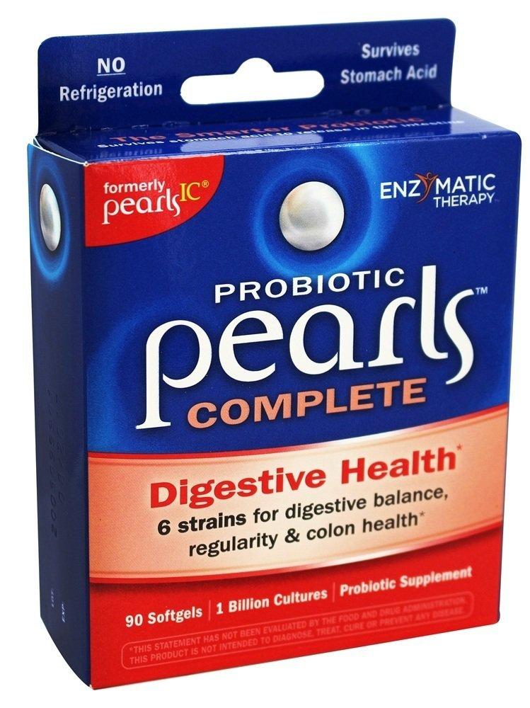 Pearls IC Intensive Care Probiotics, Capsules 90 ea (2-Pack)