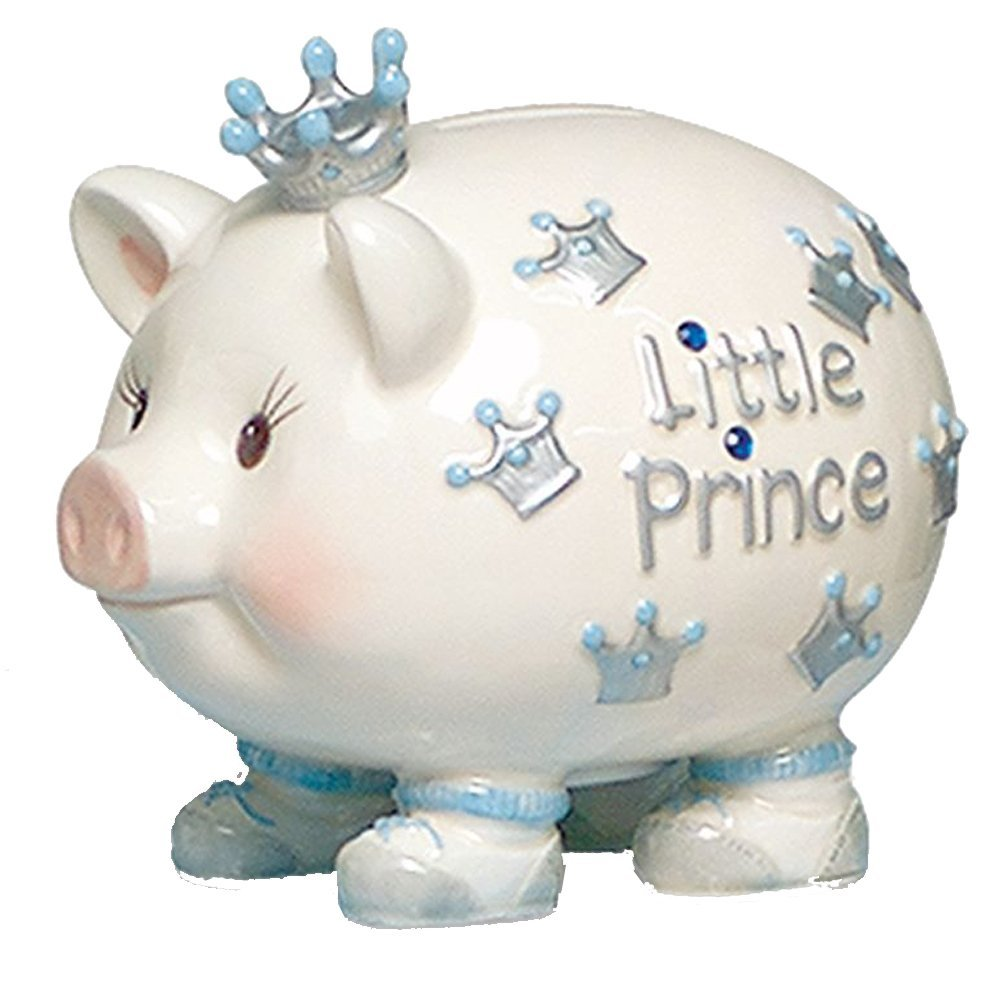 Mud pie ballerina piggy bank mud pie - Mud Pie Baby Crown Prince Giant Piggy Bank