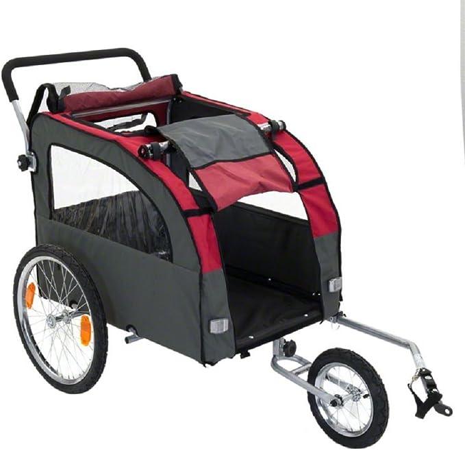 Globetrotter - Remolque de Bicicleta para Perro con Kit de Jogging ...