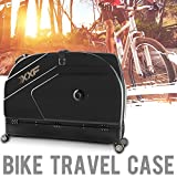 Muses Poem Bike Travel Case for 26''/700C Mountain Road Bicycle Travel Transport Equipment Black