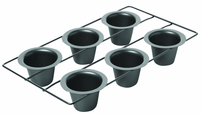 Generic NV_1008002822_YC-US2 , Newck 6-Cup opove Metallic , New Popover Non Stick Pan, New Metalli
