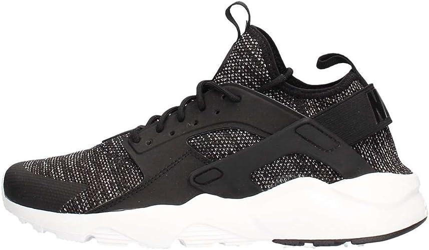 Nike Men's Air Huarache Run Ultra BR, BLACK/BLACK-SUMMIT WHITE ...