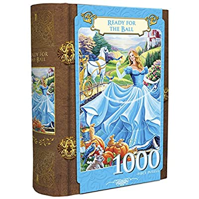 MasterPieces Ready for the Ball Cinderella Book Box Jigsaw Puzzle, 1000-Piece: Toys & Games