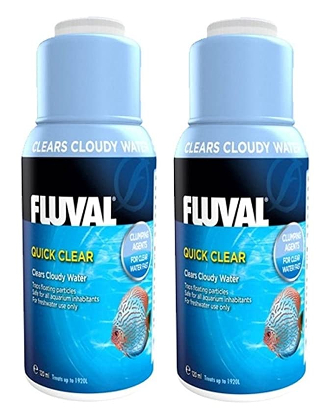 Amazon.com : Fluval Quick Clear for Aquarium Water Treatment, 8-Ounce : Pet Supplies