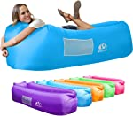 Wekapo Inflatable Lounger Air Sofa Hammock-Portable,Water Proof& Anti-Air Leaking Design-Ideal Couch