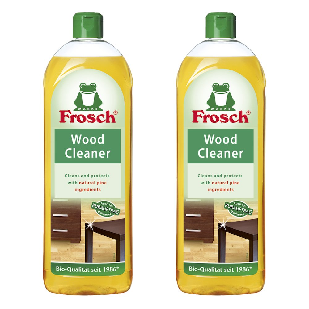Amazon.com: Frosch Natural Wood Cleaner Cleaner, 750 ml (Pack of 2): Health  & Personal Care