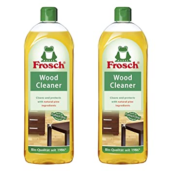 Frosch Natural Wood Cleaner Cleaner, 750 Ml (Pack Of 2)