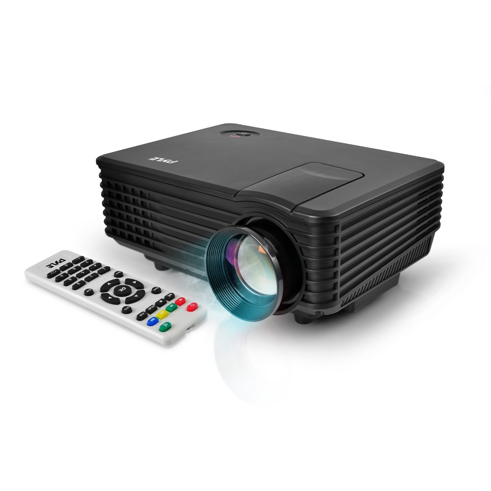 Pyle prjg88 video projector portable home theater for Apple video projector