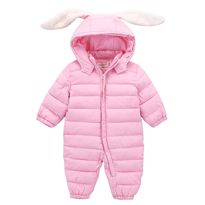 80801e05fefba Bebone Baby Clothes Boy Girl Jumpsuit Winter Romper  Amazon.co.uk ...