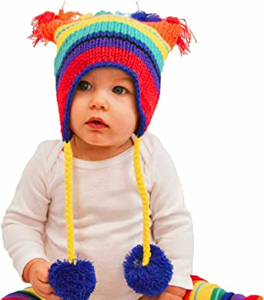 Baby Boy Hat-Pixie Knit Hat Ear Flap Hat-Vintage Baby Style-New Baby Gift.