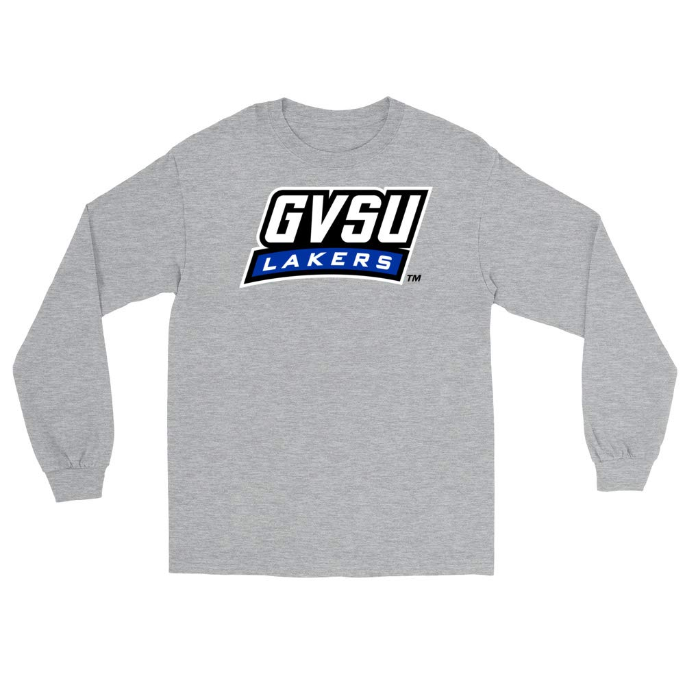 Official NCAA Grand Valley State University Lakers PPGVSU05 Mens//Womens Boyfriend Long Sleeve Tee