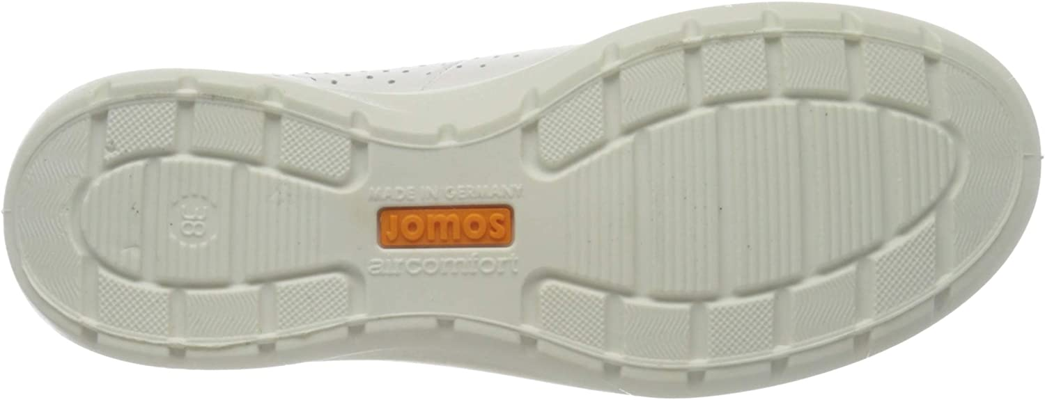 Jomos Women's Low-top Trainers White Offwhite Rosé 107 1010