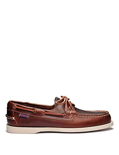 54d9bc5bb84 Amazon.com | Sebago Men's Docksides Portland Waxed Loafers | Loafers ...