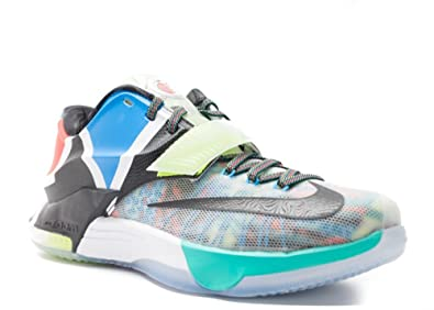 low priced 184bb e2dfa Nike Mens KD VII SE What The KD Multicolor Black-Horizon Synthetic Size 9