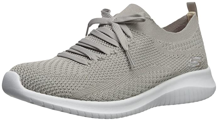 63cc99da08c4 Skechers Women s Ultra Flex Statements Sneaker  Amazon.co.uk  Shoes   Bags