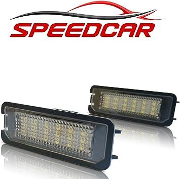 Speedcar Led Kennzeichenbeleuchtung Mit E Prüfzeichen Auto