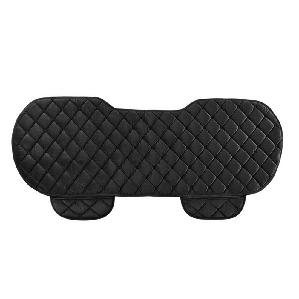 black SDYDAY Car Rear Seat Cover Plush Car Back Seat Cushion Pad Nonslip Breathable Universal Scratch-proof Rear Bench Protector Mat for Child /& Baby Cars Seats,Pet,Home Long Sofa