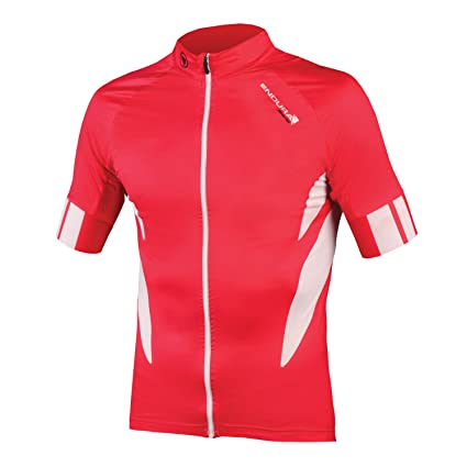a55c11053 Image Unavailable. Image not available for. Color  Endura FS260-Pro  Jetstream Cycling Jersey Red