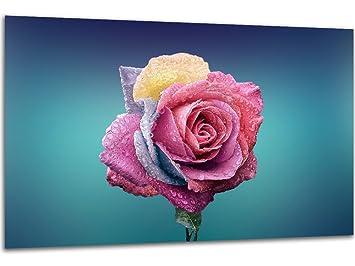 Bilder Drucke Leinwand Bild Abstrakt Flower Wandbilder