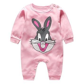 f181dcada5edd Noël bébé Barboteuse Vêtements de nuit – Hibote nouveau-né Filles garçons  Coton Pyjama Gourmette