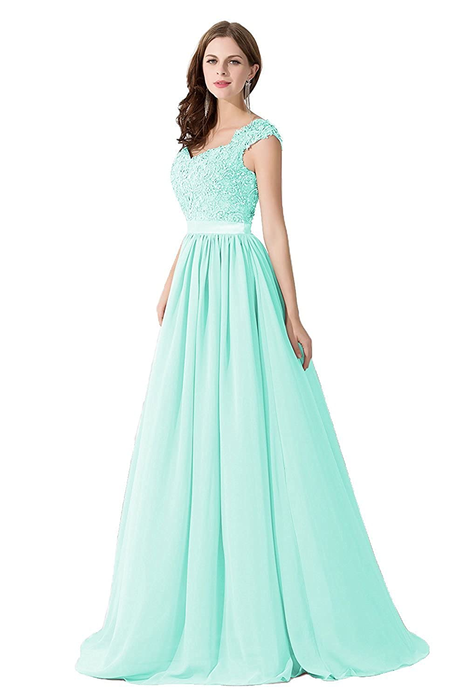 Babyonlinedress Vestido largo de fiesta para mujeres estilo elegante ...
