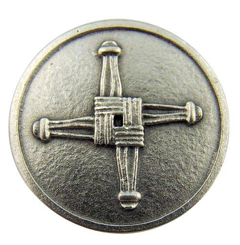 Irish Catholic Blessing - Irish Catholic Brigids Cross with St Saint Blessing Pocket Token