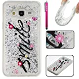 Galaxy J310 / J3 Case, Firefish Slim Dynamic Flowing [Anti-Slip] Flexible TPU [Scratch Resistances] Protective Cover for Girls Children Fits for Samsung Galaxy J310 / J3 -Smile