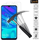 ANEWSIR Screen Protector for Huawei P Smart 2019, [2 Pack] Tempered Glass Compatible with Huawei P Smart 2019 High Sensitive Tempered Glass Screen Protector for Huawei P Smart 2019 / Honor 10 lite