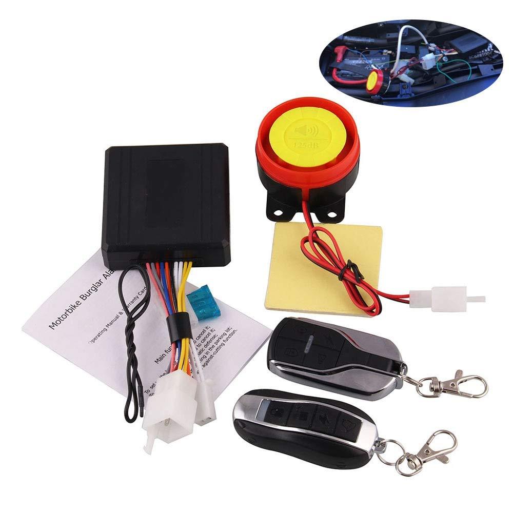 Amazon.com: DishKooker Remote Control Alarm Motorcycle ...
