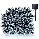 Litom Solar String Lights 200LED 72.18ft Waterproof Decorative Light with 8 Modes for Garden, Party