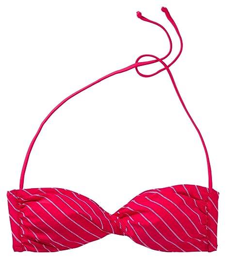 etirel Damen- Bikini Oberteil Maggy Diagonal, rot dark rot dark,36 7a428c2167