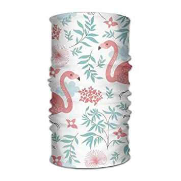 9b4b4e95f Amazon.com : Comfort Outdoor Running Headbands Bandana Scarf Wrap Flower  Flamingo Seamless Running Hiking Work Out Facemask Sweatband Head Scarf  Headwrap ...