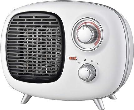 Opinión sobre Ardes AR4P02V Fifty PTC Calentador de ventilador de cerámica estilo vintage, 2 potencias con indicador de funcionamiento y termostato de temperatura 1500 W
