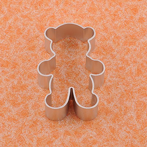 teddy bear cookie cutters shapes - 9