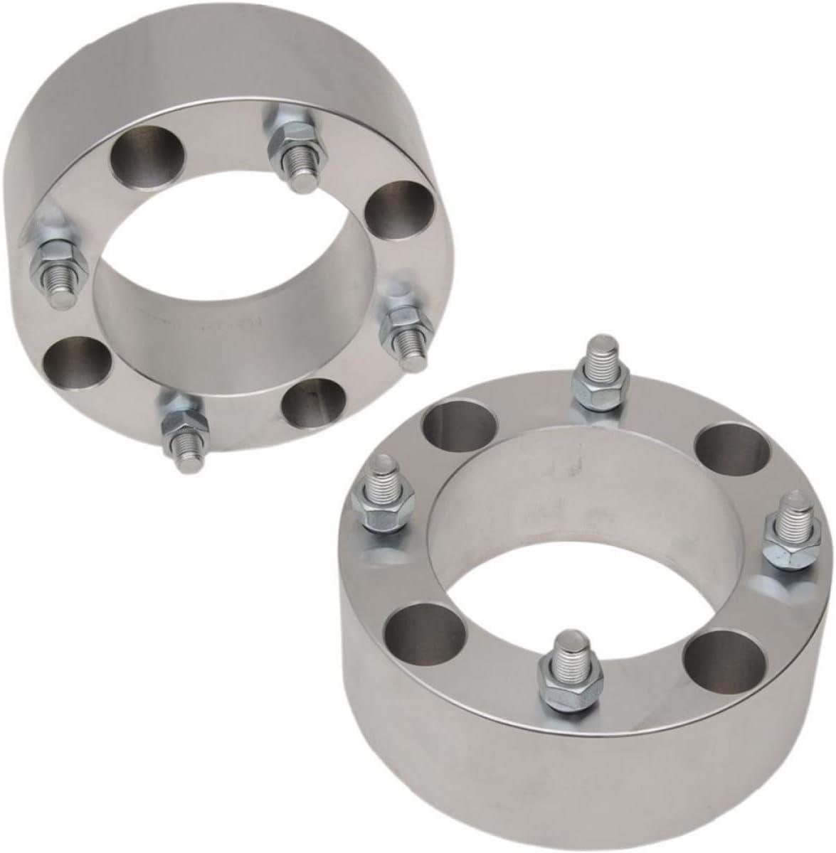 Par de espaciadores de rueda Quad ATV 4//110 de 6,35 cm de ancho 12 x 1,25