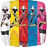 Mayflower Products The Ultimate Power Rangers Ninja Steel 6th Birthday Party Supplies and Balloon Decorations
