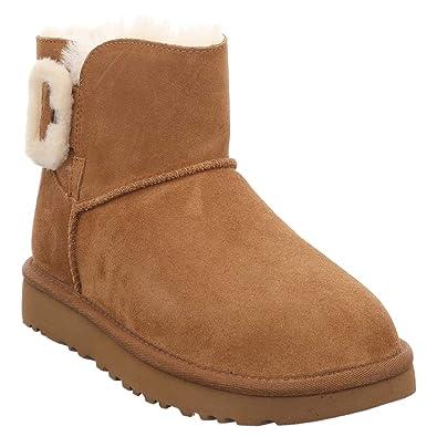 e0c86337d9 UGG Mini Bailey Fluff Buckle w/Che: Amazon.de: Schuhe & Handtaschen