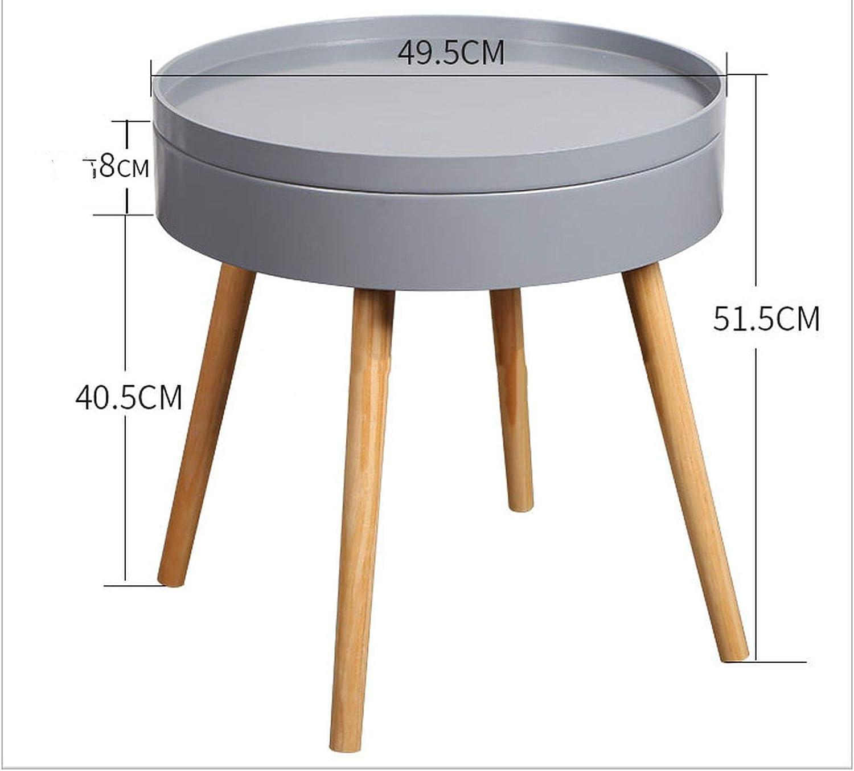 - Amazon.com: Nordic Coffee Table Round Storage Sofa Table Coffee