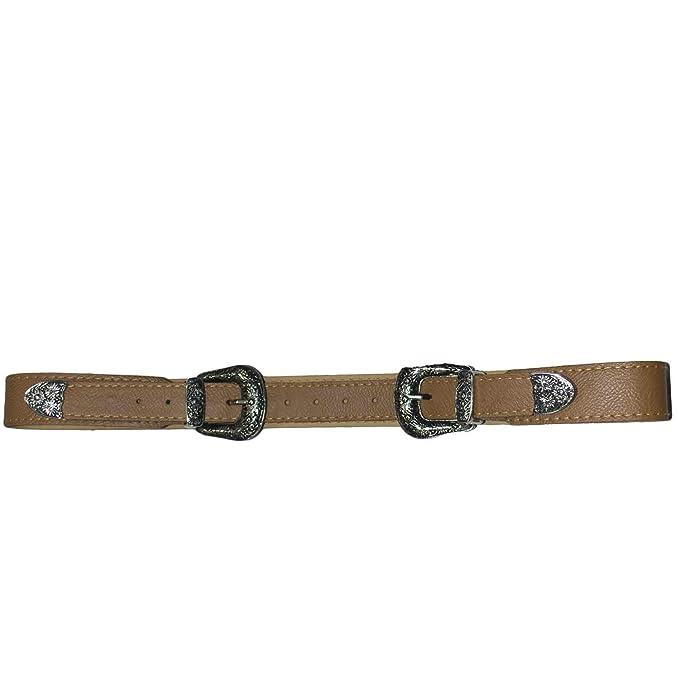 design innovativo nuove foto grande qualità Malu Shoes Cintura doppia fibbia alta borchie stile vintage cuoio ...