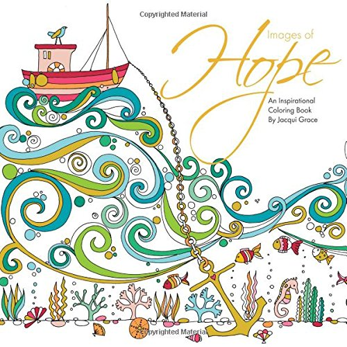 images of hope an inspirational coloring book - Coloring Books For Teens