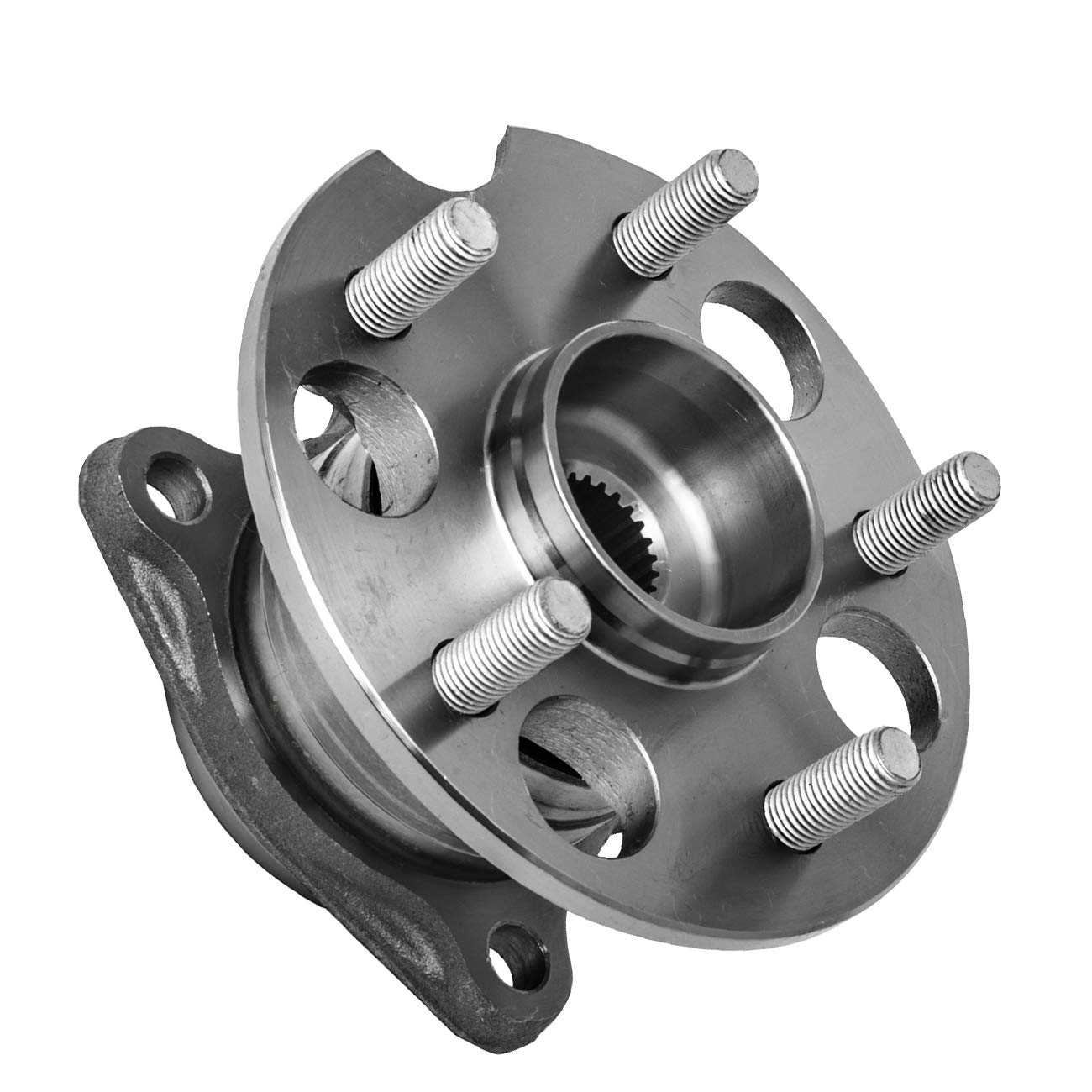 4X4 4WD//AWD 5 Lug W//ABS TUCAREST 512284 Rear Wheel Bearing and Hub Assembly Compatible 2004-2006 Lexus RX330 07-09 RX350 06-08 RX400h 04-13 Toyota Highlander 09-16 Venza