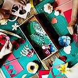 """Hamilco Colored Cardstock Scrapbook Paper 8.5"""" x"""