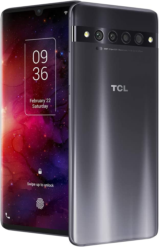 Amazon Com Tcl 10 Pro Unlocked Android Smartphone With 6 47 Amoled Fhd Display 64mp Quad Rear Camera System 128gb 6gb Ram 4500mah Fast Charging Battery