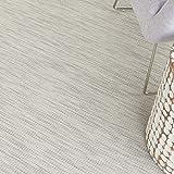 Nourison Positano Flat-Weave Indoor/Outdoor Lt Grey